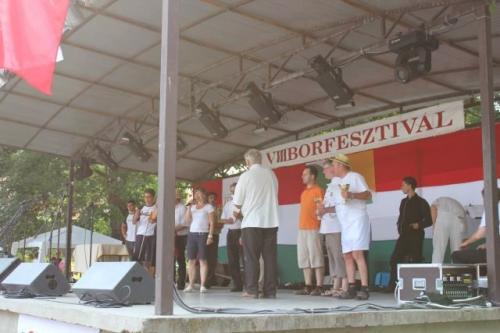 VIII. Tolcsvai Bornapok Főzőverseny. Mi voltunk a legjobbak! 2011.08.06