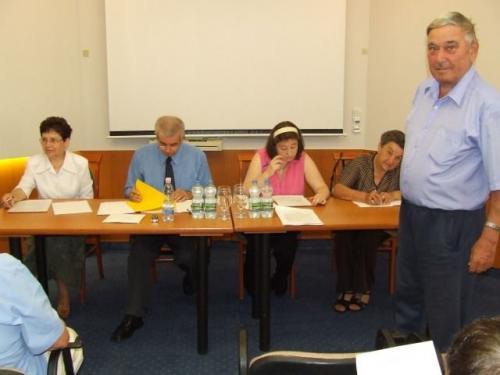 Küldöttközgyűlés 2011.05.28.Sárospatak